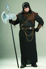 Executioner Plus Size Men's Costume Medieval Renaissance Scare Horror Halloween