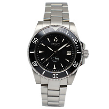 Aquacy 1769 Hei Matau Men's Automatic 300M Black Dive Watch 1769.B.B.S   Miyota