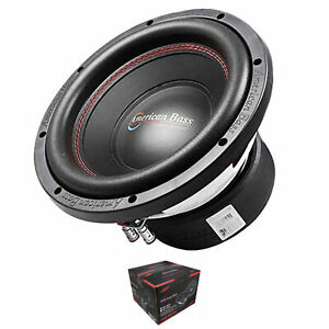 """American Bass 10"""" Subwoofer 1000W Dual 4 Ohm Voice Coil Black XD Series"""