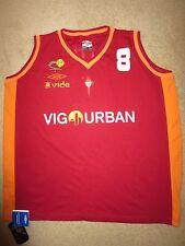 Celta De Vigo Pettis 8 LFF Liga Femenina de Baloncesto Basketball Jersey XXL NEW