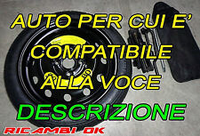 Kit Ruotino R15 DOT2019Toyota Aygo-YARIS-P 108-Hyundai I20 I10-Kia Picanto-MAZDA