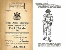Enfield/Webley .38 Revolver 1942 - Canadian - Small Arms Training