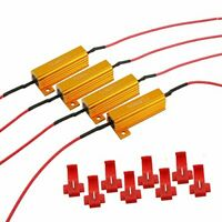 50W 6ohm Load resistors with T-Taps Works for Most Cars in the Market (12 Pack)