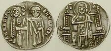 061. Italian Coin. VENICE. Francisco Dando. AR Grosso. Christ / Dodge & St. Mark