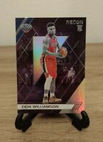 Zion Williamson ROOKIE SILVER REFRACTOR 2019-20 Panini Chronicles Recon #292 RC