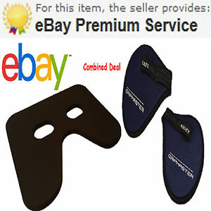 Seat Pad For Concept 2 Rowers & Gripmaster Hand Pads, Free Rapid Delivery