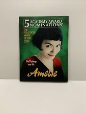 Amelie (Dvd, 2002, 2-Disc Set, Special Edition) Very Good Tested Complete