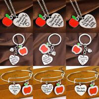 Gift for Teacher Teaching Assistant Nursery Teacher Assistant Bracelet Necklace