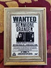 Hermione Granger Wanted Handmade Christmas Tree Ornament Harry Potter