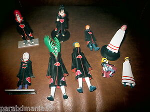 Lot Figurines Manga-6 a 16 cm-A identifier