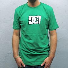 Camiseta DC verde logo blanco - XL - PVP 32 € - nueva - autentica - T-shirt