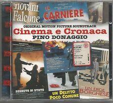 PINO DONAGGIO - Cinema e cronaca - CD OST 1997 SIGILLATO SEALED