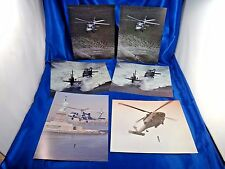 US Navy Sikorsky SH-60F CV HELO Aircraft Helicopter Photograph Print Lot of 6