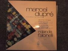 FRANCE GATEFOLD NM CLASSICAL LP ROLANDE FALCINELLI ORGAN MARCEL DUPRE VOL 3