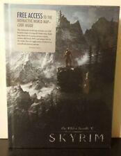 The Elder Scrolls V: SKYRIM Official Game Guide First Edition Hardcover (Sealed)