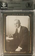 Ty Cobb UD MASTERPIECES Cut Letter Handwriting BAS BECKETT AUTHENTIC AUTO