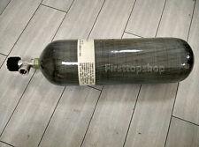 CE 6.8L Scuba Diving Air Tank, Carbon Fiber Aluminum High Pressure Air Cylinder