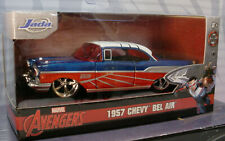 Marvel AVENGERS Falcon 1957 CHEVY BEL AIR ✰red,white,blue✰ JADA Hollywood ✰1:32