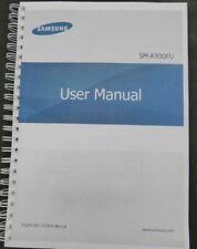~PRINTED~ Samsung Galaxy A3  A300FU manual user guide COLOUR A4 or A5