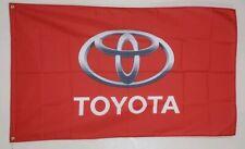 Toyota Banner 3x5 Ft Flag Garage Wall Decor Racing Advertising Camry Nascar