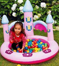 Nuevo Chicas Disney Princesa Rosa Elegante Piscina Jardín de Chad Valley Bola Pit