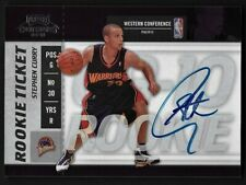 2009-10 Panini Playoff Contenders Stephen Curry RC Autograph Card #106 Warriors