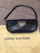 Genuino Bolso Louis Vuitton Pouchette Montaigne Beverly Epi Negro