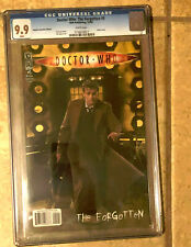 DOCTOR WHO - THE FORGOTTEN #5 cgc 9.9 MINT 10 Retailer Incentive PHOTO Variant