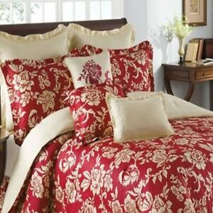 "Savannah Home Rimbaud Cotton Euro Ivory and Gold Pillow Sham 26"" x 26"""