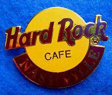 New listing Nashville Usa Large Vintage Hrc Classic Orange 2Lc Logo Hard Rock Cafe Pin