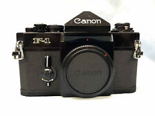 CANON F-1 35mm SLR FILM CAMERA BODY MANUAL FOCUS S/N 588081 EXCELLENT
