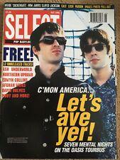 SELECT Magazine May 1996 Oasis Marion Lush Pulp Romo Cast Iggy Pop