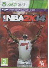 MICROSOFT XBOX 360 NBA 2K14 PAL ITALIANO NUOVO SIGILLATO