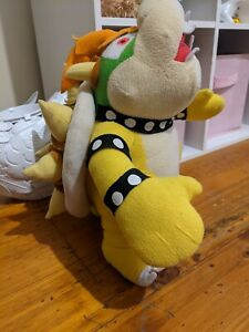Super Mario Bros Game Mario Party Bowser Plush Toy 35cm