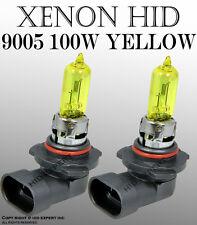 9005 HB3 12V 100W Halogen Headlight Light Bulbs 3000K Super�Yellow *66 High Beam