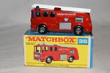 MATCHBOX SUPERFAST #35 MERRYWEATHER FIRE ENGINE TRUCK, EXCELLENT, BOXED