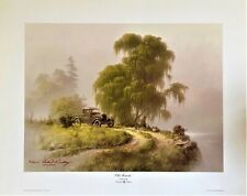 Dalhart Windberg Old Friends Print 1983 Ltd Ed 417/1000 Artist Signed