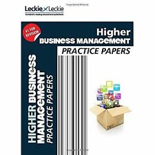 CFE Higher Business Management Practice Papers for SQA Exams,9780007590964, NEW