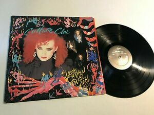 Culture Club Waking Up House on Fire New Wave Record lp original vinyl album