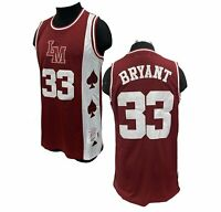 Kobe Bryant High School Lower Merion Basketball Jersey Headgear Authentic Aces M