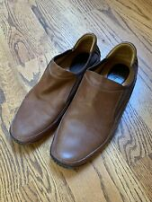 Cole Haan Brown Leather Driving loafers, Size 9.5 Men