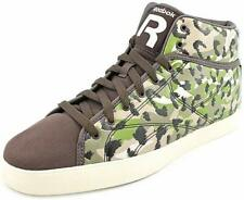 Mens Reebok T-Raww Hight Top Sneakers - Brown/Green, Size 9.5 [V55623]