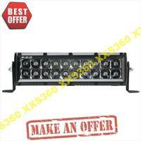 "RIGID Industries 10"" WHITE LED Light Bar SPOT E-Series Pro Midnight"