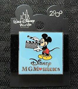 "Walt Disney World 2000 ""MGM STUDIOS MICKEY MOUSE CLAPPERBOARD"" ENAMEL PIN minty"