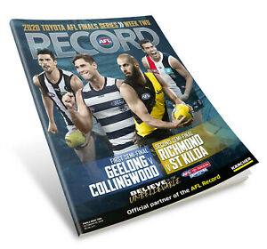 AFL Footy Record - 2020 Finals Series Week 2 - First & Second Semi Final Games