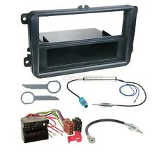 Skoda Fabia 07-14 1-Din Car Radio Installation Set Adapter Cable RADIO FACEPLATE