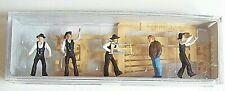 Ho Preiser Amish Farmer Farm Barn Carpenter (5) Figures