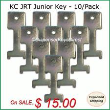 Kimberly Clark #770371 JRT Jr. key for Jumbo Toilet Tissue Dispensers - (10/pk)