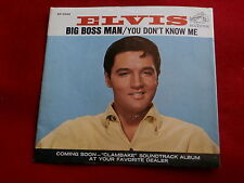 ELVIS PRESLEY~BIG BOSS MAN~YOU DON'T KNOW ME~SLEEVE ONLY~RCA 47-9341~ POP