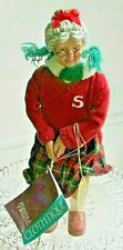 Clothtique Mrs. Santa Claus Playing Golf Possible Dream